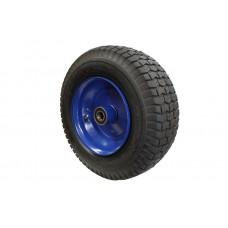 Pneumatic Black Steel Wheel 420mm diameter x 155mm width
