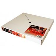Adhesive Tape (Loop Only) Box Black 25mm x 25m