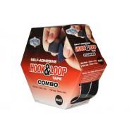 Hook & Loop Tape COMBO (Hook & Loop) Box Black 25mm x 4.5m