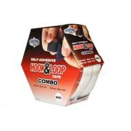 Hook & Loop Tape COMBO (Hook & Loop) Box White 25mm x 4.5m