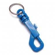 KEY RING SNAPHOOK PLASTIC W/25MM SPLIT RING
