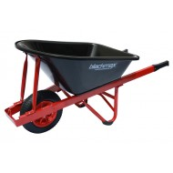 The Contractor - Poly tray, Steel handles, Pneumatic Wheel
