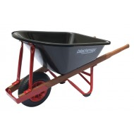 The Contractor - Poly tray, Timber handles, Pneumatic Wheel
