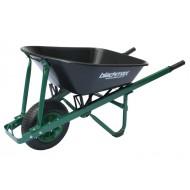 The Gardener - Poly tray, Steel handles, Pneumatic Wheel