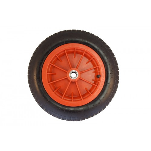 house on wheels pneumatic wheel poly 370mm x 80mm 13008