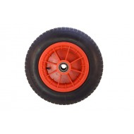 Pneumatic Wheel Poly Rim 400mm x 100mm