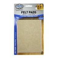 Felt pads Heavy Duty - 150mmx110mm sheet x 2pcs