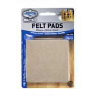 Felt pads Heavy Duty - 85mm x 85mm sheet x 2pcs