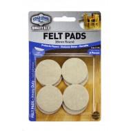 Felt pads Heavy Duty - 38mm round x 8pcs