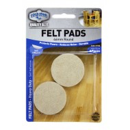 Felt pads Heavy Duty - 46mm round x 4pcs