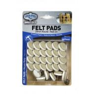 Felt pads Heavy Duty - 20mm nail-on x 30pcs