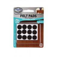 Felt pads Medium Duty - 13mm round x 24pcs