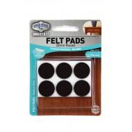 Felt pads Medium Duty - 20mm round x 12pcs